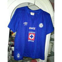 Jersey Playera Cruz Azul Retro De Algodon Umbro 2013 Xs