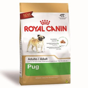 Ração Royal Canin Para Cães Adultos Pug 7,5 Kg + Brinde