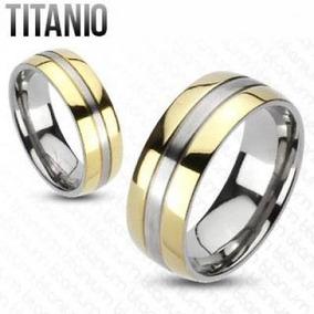 Anillo de matrimonio titanio