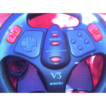 Volante Simulador De Manejo Interact C/pedales Y Joystick