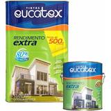 Tinta Acrílico Rendimento Extra Verde Kiwi 18l Eucatex
