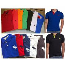 Kit 20 Camisas Camisetas Polo Preço De Atacado Aleatory