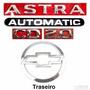Emblemas Astra Automatic Cd 2.0 + Mala - 2003 À 2007