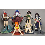 Ikkitousen Dragon Destinygashapon Set 2 Sexy Anime Guerreras