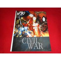 Civil War Revista Virtual Kids Edicion De Lujo Año 2008