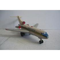 Avion Boeing 727 Mexicana - Juguete De Lamina Antiguo