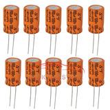 Capacitor 100uf X 100v Eletrolítico Para Alto Falante 10 Pç