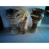 Porrones Y Chaguaramos Decorativos