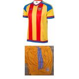 Conjunto Camiseta + Short Valencia 2015-16