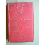 Gutiérrez González Gregorio - Poesías. Garnier Hermanos 1903