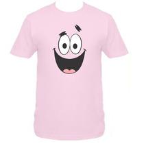 Camiseta Adulto Patrick Bob Esponja