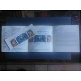 Oca. Boletín Inform. # 23 + 3 Sellos Postales. Navidad 2001