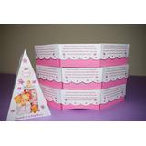 40 Cajas Golosineras Con Forma Porcion De Torta Souvenir