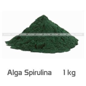 Alga Espirulina Spirulina Maxima En Polvo 1 Kg Envio Gratis