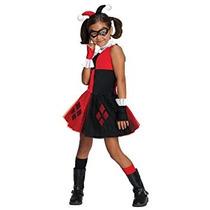 Disfraz Traje Dc Super Villain Collection Harley Quinn De L