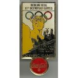 Coca-cola Pin Serie Olimpíadas Berlim 1936