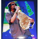 Fotografia Firmada Snoop Dogg Rap Hip Hop Doggystyle Lion M2