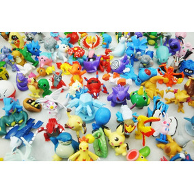 Kit Lote De 24 Bonecos Pokémon Miniatura P/ Colecionadores