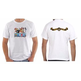 Camiseta Camisa Masculina Anime One Piece Monkey D. Desenhos