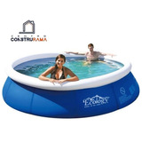 Piscina Inflable Instand Up Area 2,4 Mts Altura 63cm Ecology