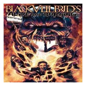 Black Veil Brides Alive And Burning Importado Dvd Nuevo