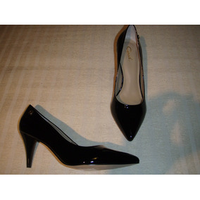 Zapato Gacel Reina Charol Nº 36 Colección. Negro.