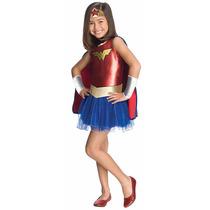 Disfraz Super Hero Girls Original!!! Mujer Maravilla