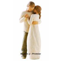 Topo De Bolo Para Casamento Rústico Noivinhos Promise