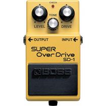 Pedal Boss Super Over Drive Sd1 + Brinde + Nfe + Garantia