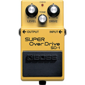 Pedal Boss Super Over Drive Sd1 + Brinde