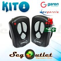 Kit C/ 2 Controles Remoto Garen 433mhz Para Automatizadores