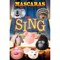 Mascara Antifaz Sing