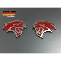 Emblemas Laterais Mopar Hellcat Dodge Ram Dakota Durango