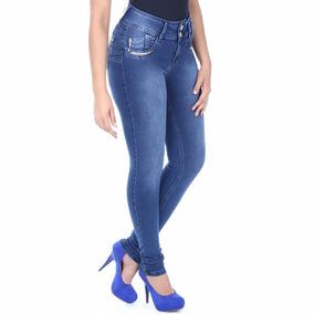 Calça Feminina Jeans Sawary Skinny Stranss Bolso Novidade