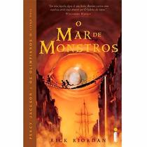 Livro O Mar De Monstros - Coleção Percy Jackson E Olimpoanos