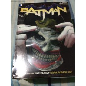 Box Batman-death Of The Family-livro E Máscara Promoção