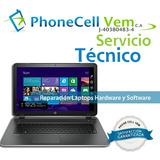 Servicio Tecnico Especializado De Laptop Dell Hp Asus Lenovo