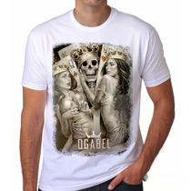 Camiseta Camisa King Caveira Og Abel Thug Life