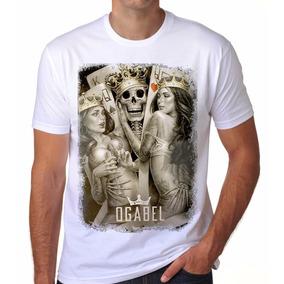 Camiseta Camisa King Caveira Og Abel Thug Life Gangsta