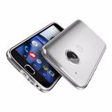 Forro Protector Funda Clear Motorola Moto G5 Plus +vidrio 9h