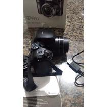 Câmera Samsung Wb100 - Com Cartao De Memoria 16gb