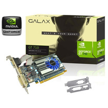 Placa Video Nvidia Geforce Gt710 2gb Ddr3 Dx12 Cooler Hdmi