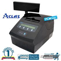 Impresora Fiscal Aclas Pp9 Incorpora Visor Precio/fiscal