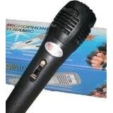 Microfono Profesional Dinamico Pc Notebook Karaok San Miguel