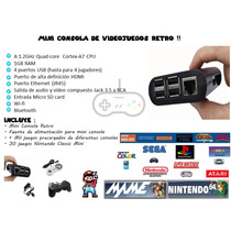 Mini Consola Video Juegos Retro Megaoferta + Entrega Hoy