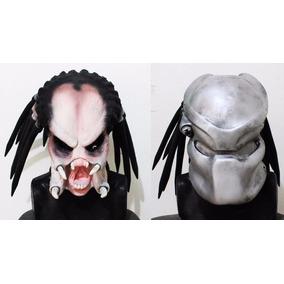 Depredador Predator Alien Mascara Halloween Mascara De Latex