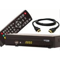 Kit Conversor Digital Terrestre Full Hd Hdmi Tv Cabo Hdmi