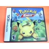 Pokemon Dash - Ds - Completo Caja Y Manual - Ingles - Ojh