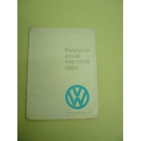 Relatório Anual Da Volkswagen Exercício 1964