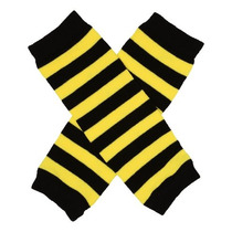 (stripe Bee Newborn) Little Mis Piernas Recién Nacidos Pern